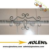 alibaba supplier cheap wrought iron fence panels/staircase pickets used for sale                                                                                                         Supplier's Choice