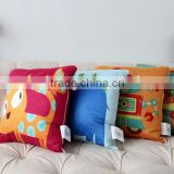 Super comfortable Cushions cartoon printed children quilt,dual pillow cover, car multifunction Cushions