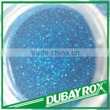 Rainbow Color Blue Glitter Hexagonal Powder for Christmas Decorators