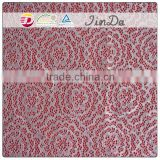 New design beautiful Korea lace fabric with hot selling