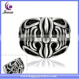High quality mens ring 316l stainless steel fashion latest wedding ring designs (MYR029)