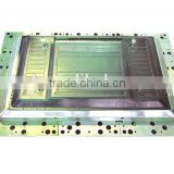 High precision Plastic LCD TV back cover out shell mould making