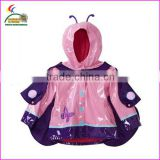 with funny design kids clothing Rain coat