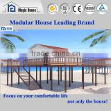 Cost-effective Safe Durable Light Steel Frame Structure Good Looking High Post Prefab Modular House