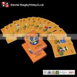 Playing card paper,barcode playing cards, cards playing print from shenzhen Wangjing