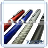 2015 new Carbon fiber luxury calligraphy business signing advertising novelty metal pen set