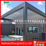 motorized outdoor waterproof roof pergola                                                                         Quality Choice