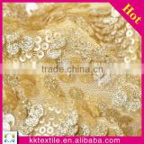 multi color beads sequin mesh indian tulle cheap embroidery gold wholesale sequin fabric
