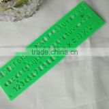 Factory Plastic Letter Stencil Ruler OEM and ODM office stationery for school student ruler graduated size