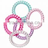 hair accessories for girls multicolor telephone wire cord hair band head band fabric elastic hair ties hair band rope