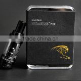 Stock shipping Sense Black Herakles Plus!!! New Sub Ohm Tank Sense Herakles Plus Tank With Ni 200/ 0.4 Ohm Herakles Plus