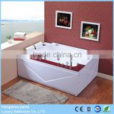 Two Person Whirlpool Bathtub Acrylic Material