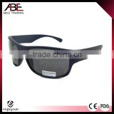 High Quality Cheap Custom shiny black frame and temple sunglasses