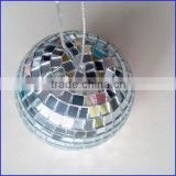 fine quality ornament disco balls hanging rotating mirror ball 16 inches disco mirror ball