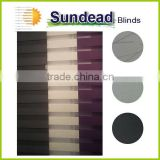 Panel curtain glide effortlessly on carrier track solar control light filtering sunscreen basement window treatment