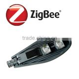 Smart system managerment zigbee street light lamp with sensor