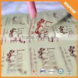 Decorative graceful custom transfer sticker