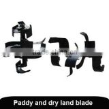agricultural tools and uses power tiller spare parts agricultural field cultivator parts tiller blade