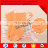 100%Cotton Knitted Fancy Baby Anti slip Custom Socks Soft Warm Cotton Baby Sock Terry Baby Sock