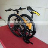 2015 Hot Sale suspension mountain bike mtb folding bike/ 26 inch mtb bicycle mountain bike