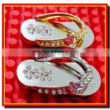 Nice lover shoes 1gb 2gb 4gb 8gb 16gb 32gb 64gb 128gb metal usb flash memory stick, usb flash drive metal