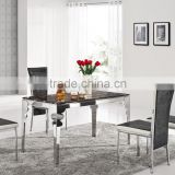 popular hotel used furniture marble top 8 seater marble dining table