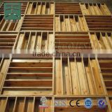 cedar wall panels two dimension wood color theater diffusor