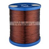 Polyester enamelled Copper wire (EIW/180) enamelled copper wire apply to H class motor tranformers instrumentations
