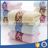 Wholesale logo custom luxury terry plain cotton towel face cloth                                                                                                         Supplier's Choice