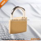 brass Padlock combination padlock with master key