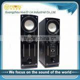 Factory direct selling super dj bass speaker line array speaker box 2.0 active speaker computer loudspeaker