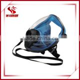 filtering smoke facial gas mask, breathing mask with 3m filter