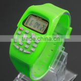 Cheap price wholesale china calculator watch children's birthday gift function student watch