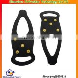 ice and snow foot grips slip resistant spikes for shoes