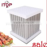 SALE Stainless Steel The Cube Kebab Maker Box/Brochette Express