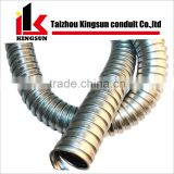 Stainless steel 304/201 flexible corrugated electrical conduit pipes