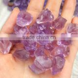 Natural Rock Amethyst Crystal Quartz Rough Crystal Tumbled Stone