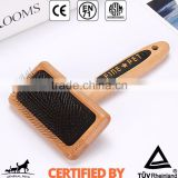 Wholesale Dog Grooming Wooden Shedding Comb                                                                         Quality Choice