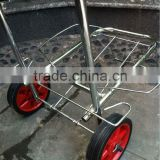 3 wheel airport luggage carts Baggage 3 wheel airport luggage trolley cart