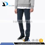 Daijun oem fashion 100% cotton formal long man blue suit pant coat