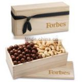 cheap wholesale unfinished wooden candy boxes empty chocolate gift box