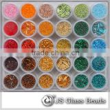 Glass Beads For Decorating - Wholesale Glass Seed Beads in Bulk For Garments & Jewellry