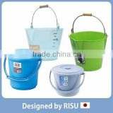 Reliable and Various household cleaning plastic bucket with handle at reasonable prices small lot order available