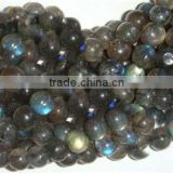 8 MM Round Labradorit Plain Bead String