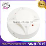 wired optical 9v heat detector