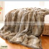 faux fur blanket, faux fur throw, PV fur throw