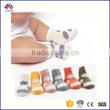 Newborn Infant Kids Cute Lovely Cartoon Clouds No bone Cotton Anti slip Rubber Sole Baby Socks