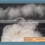 Chinese best quality of sheep wool combing 20.5mic,40-50mm raw white color,substitute of carbonized wool