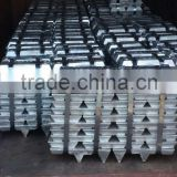 zinc ingot 99.995 % hydrometallurgy, extract zinc from zinc sulphate solution, zinc electrowinning
