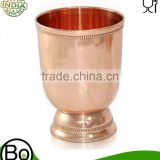 Copper Drinkware Water Tumbler Drinking Glass 16.9 Oz